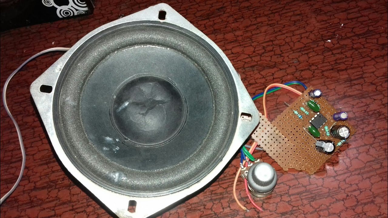 Full bass 4558 ic || subwoofer speakers control (100% Working)