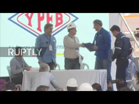 Bolivia: Morales and Gazprom CEO open Incahuasi gas plant