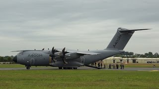 Airbus A400M Atlas arrival with at RIAT 2014 Friday 11 July Air Show