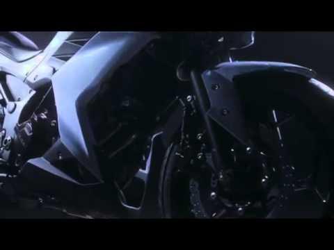 2013 Kawaski Z250 promotion Video