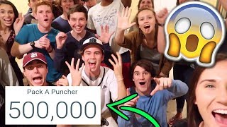 MY FRIENDS THREW ME A SURPRISE PARTY FOR 500K SUBSCRIBERS! - (500,000 Subscriber Video)
