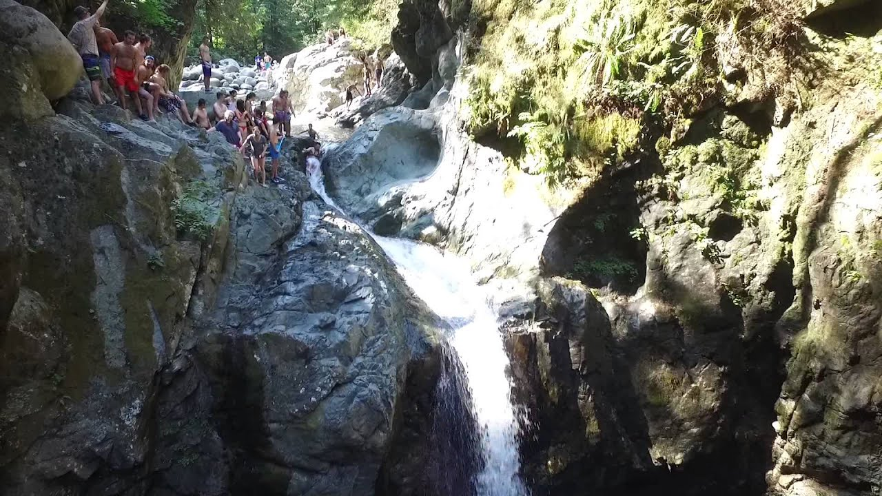 Syringa Provincial Park Natural Water Slide