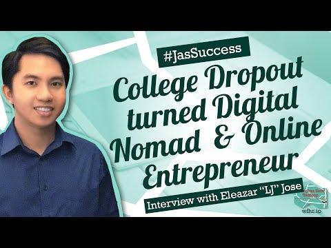 🔴College Dropout turned Digital Nomad & Online Entrepreneur | Eleazar 'LJ' Jose | #JasSuccess 030