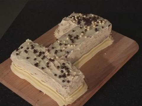 How to make a number one sponge cake