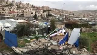 بالفيديو والصور: الاحتلال الإسرائيلي يهدم 3 منازل بالقدس المحتلة