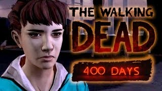The Walking Dead 400 Days Gameplay DLC (Shel) Part 4