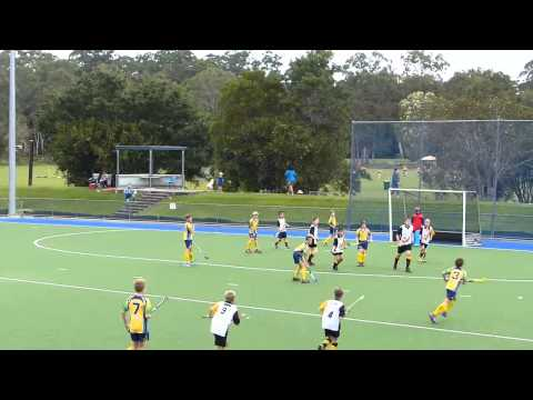 Under 13 Boys Coulter Shield Hockey Sunshine Coast. Field Hockey May 2015