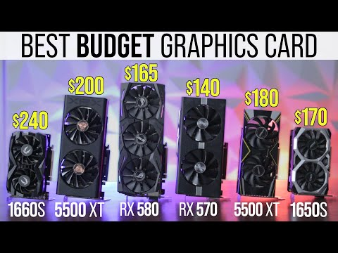 The Best Budget Graphics Cards For PC Gaming - Under $250