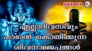 എല്ലാദിവസവും പാടാൻകൊതിക്കുന്ന ശിവനാമജപം | Siva Song | New Malayalam Devotional Songs | Hindu Songs