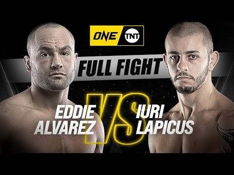 Eddie Alvarez vs. Iuri Lapicus | ONE Championship Full Fight