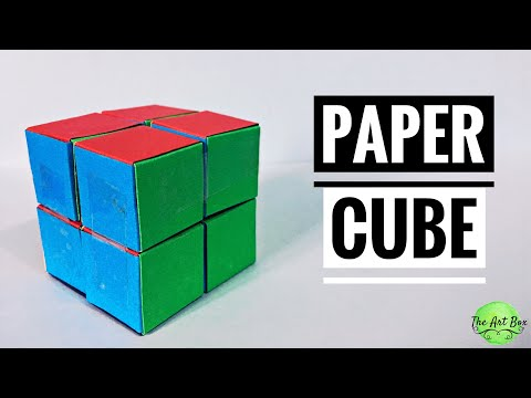 paper CUBE | paper INFINITY CUBE