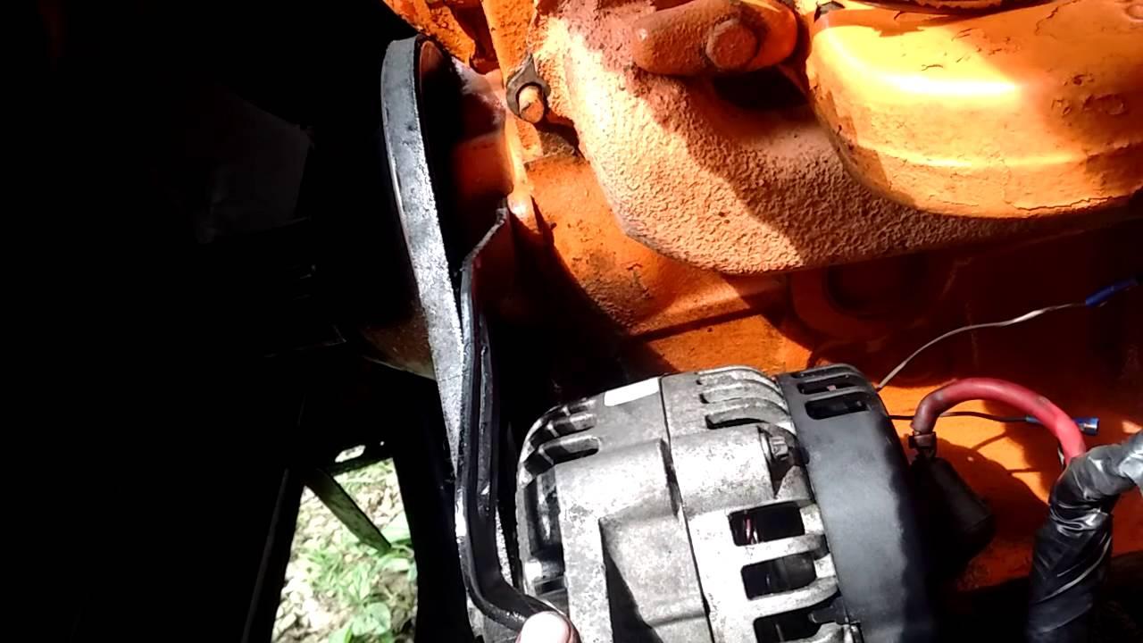 medium resolution of 68 chevy alternator upgrade