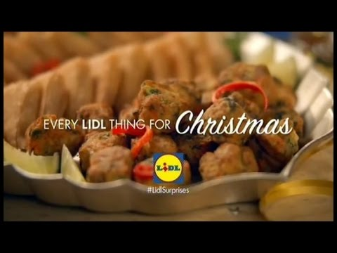 Lidl Party Food Christmas 2016