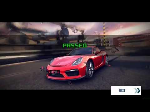 Asphalt 8 Porsche Cayman GT4 Event Time Attack - TENERIFE + San Diego Harbor