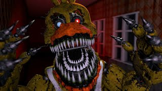 Soy NIGHTMARE CHICA Nueva Actualización ! -Five Nights At Freddy's Simulator | Fnaf New Animatronic