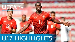 UEFA Under-17 Highlights: Portugal 5-0 Austria