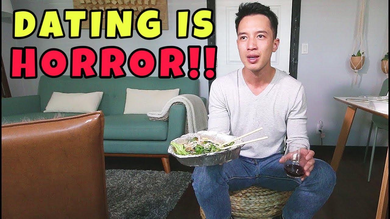 dating is HORROR 🔪⚰️👹 • talkbang • mukbang • VIETNAMESE SPRING ROLLS + PORK VERMICELLI NOODLES