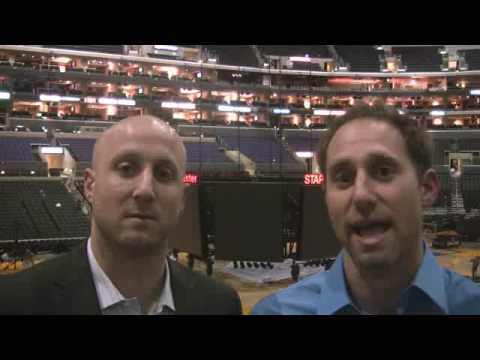 Kamenetzky Brothers on LA's 99-92 Opening Night Win