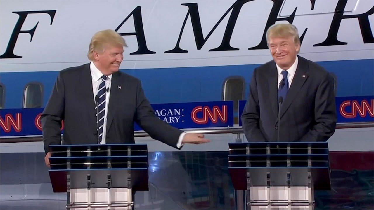 d0ba5b125801 Trump Debating Trump - YouTube