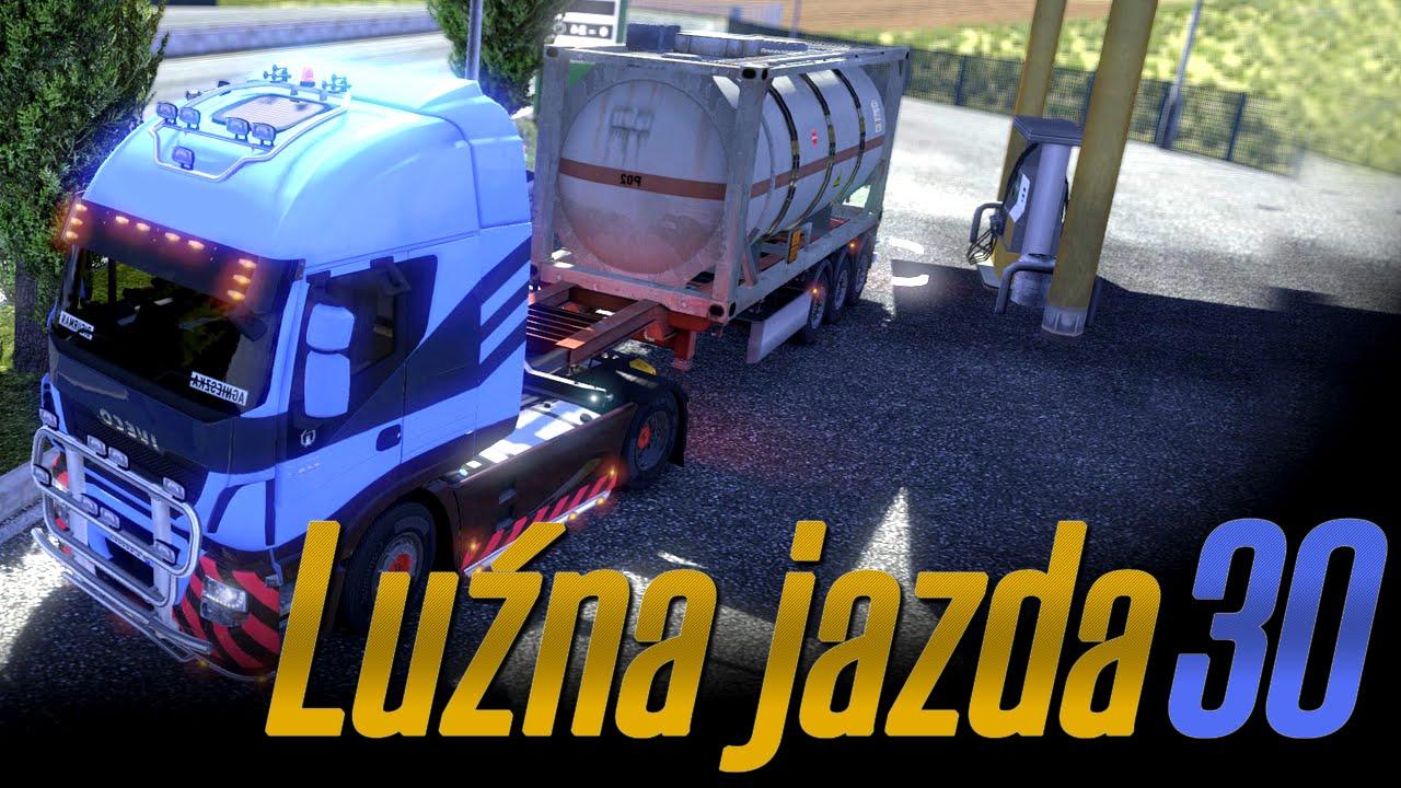 Luźna jazda w Euro Truck Simulator 2 - #30 - Jazda bez stłuczki? -Nigdy w życiu!! :D