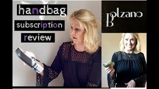 Bolzano Handbag Subscription || November 2018