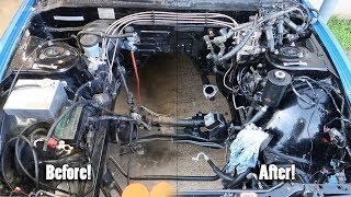 I Cleaned The Engine Bay (s13)