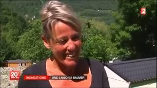 Reportage Camping Cascades crues 2013