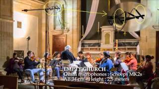 HOW TO MIC A STRINGS SECTION : Schoeps vs Neumann