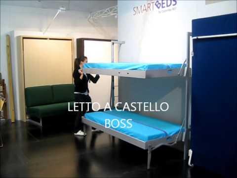 Mobile Letto A Castello Trasformabile Modello Vagone Letto.Smartbeds Letto Castello 2005 Boss C Youtube