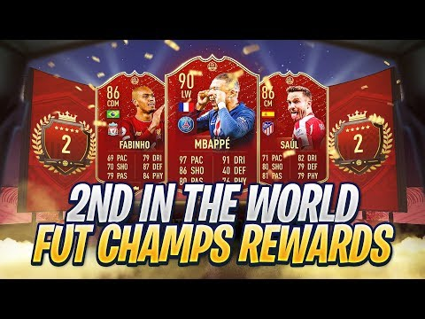 2ND IN THE WORLD FUT CHAMPIONS REWARDS W/HASHTAG HARRY! FIFA 20 ULTIMATE TEAM!