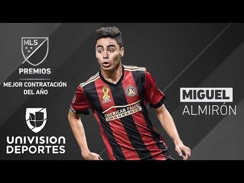 14 asistencias y nueve goles, Miguel Alimirón, es la Contratación del Año en la MLS