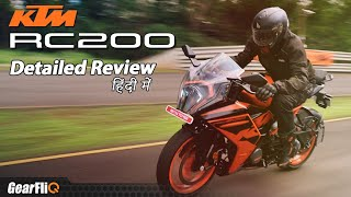 Download 2022 KTM RC 200 - Detailed Review | Better than before? | Hindi | GearFliQ