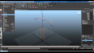 Basic Character Rigging Part 1 / 3 - Skeletal structure, IK, Constraints and Control Setup