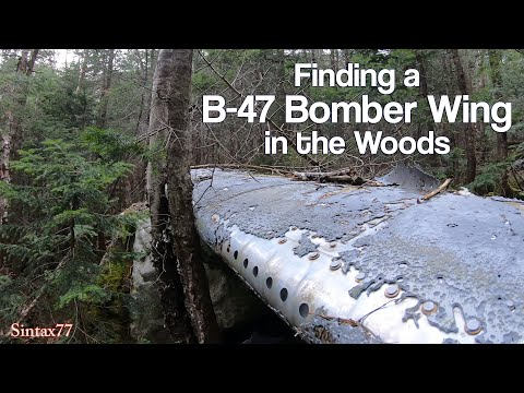 military-surplus-camping-pt-2---finding-the-b-47-crash-wing