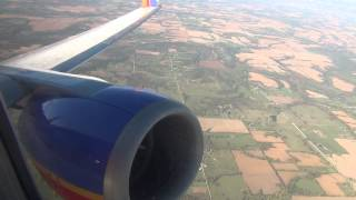 *Onboard* Classic Southwest 737-300 Takeoff Kansas City International