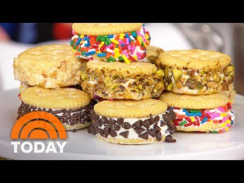 Ritz Cracker Ice Cream Sandwiches And Other Easy Summer Snacks | TODAY