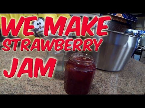 In The Kitchen We Make Strawberry Jam