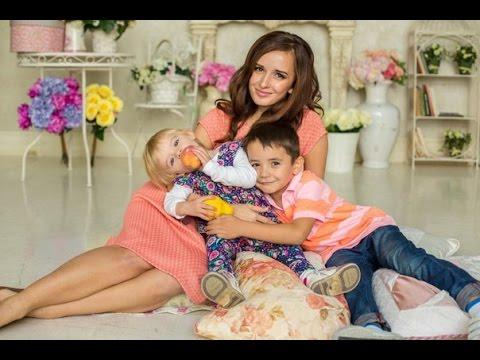Маргарита Марсо с детьми. фото
