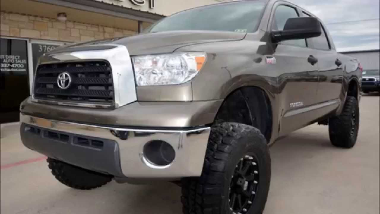 2008 toyota tundra crew max sr5 4wd lifted truck youtube. Black Bedroom Furniture Sets. Home Design Ideas