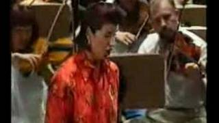 Agnes Baltsa first rehearsal with a new orchestra 1997 Part1