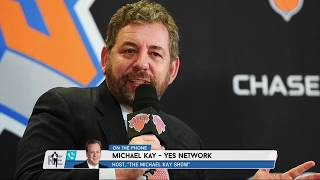 Michael Kay Breaks Down His Odd, Rambling Interview w/Knicks Owner James Dolan | The Rich Eisen Show