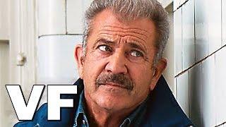 TRAINÉ SUR LE BITUME Bande Annonce VF (2019) Mel Gibson, Action