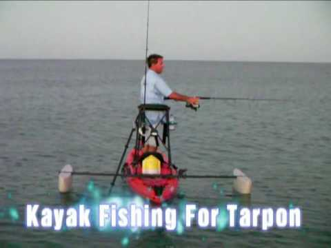 Kayak Fishing For Tarpon From A Stand N Fish