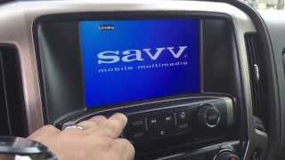 2015 GMC Denali 3500 DVD video integration