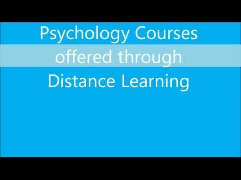 Psychology courses through distance education in India