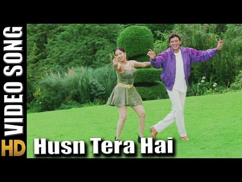 Husn Tera Hai - HD Song Chandaal Movie - Mithun Chakraborty - Singers : Jasbindar Kaur, Sonu Nigam