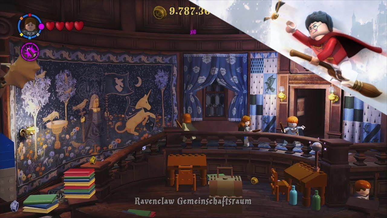 75 Ravenclaw Gemeinschaftsraum Lego Harry Potter Die Jahre 1 4 Coll 100 Youtube