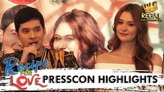 Recipe For Love Presscon Highlights: Christian talks about his kissing scene with Cora