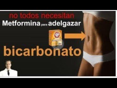 adelgazar abdomen con bicarbonato