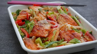 Sweet and salted salmon mayonnaise | Cook kafemaru's recipe transcription